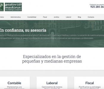 Web Gestoria-medina.com