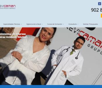Rediseño Pagina Web Previcaman.com