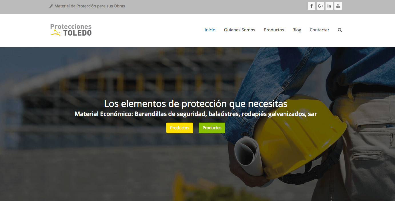 Web Proteccionestoledo.com