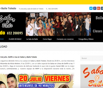 Web Saborybaile.com